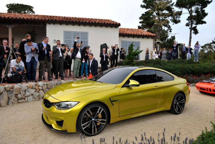 BMW M4 Pebble Beach