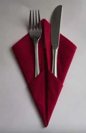Tipo de tela para servilletas de mesa