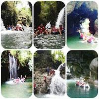 Paket Santirah River Tubing dan Body Rafting