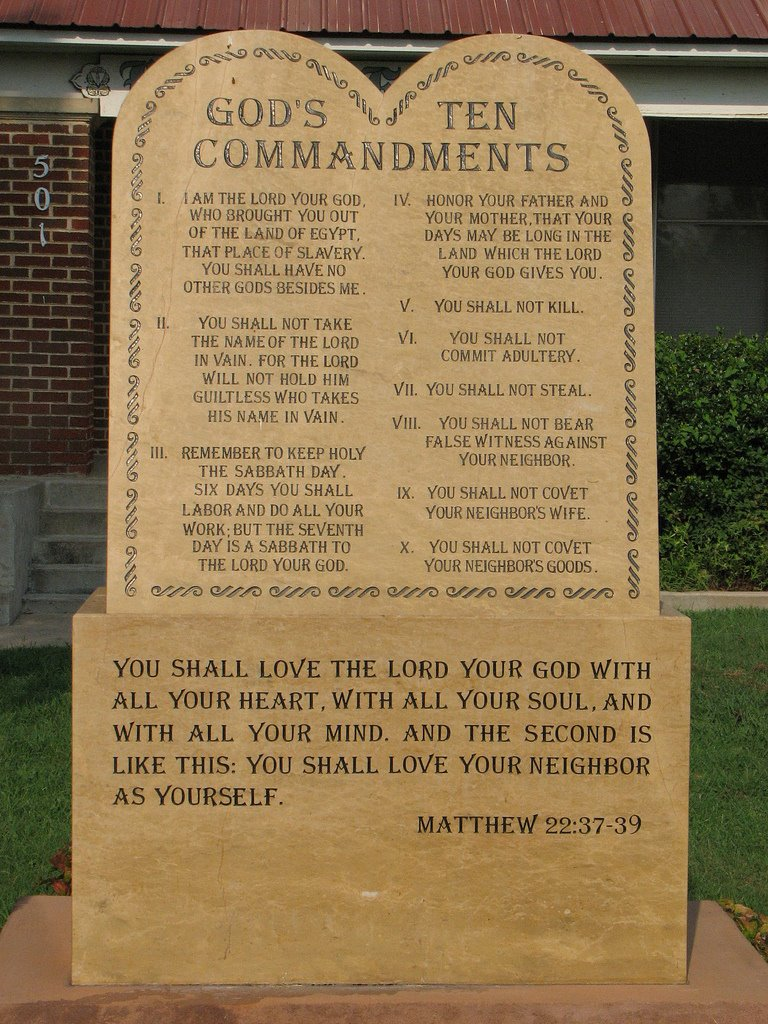 st. walburga's blog: the ten commandments