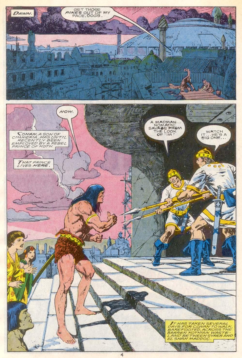 Conan the Barbarian (1970) Issue #209 #221 - English 5