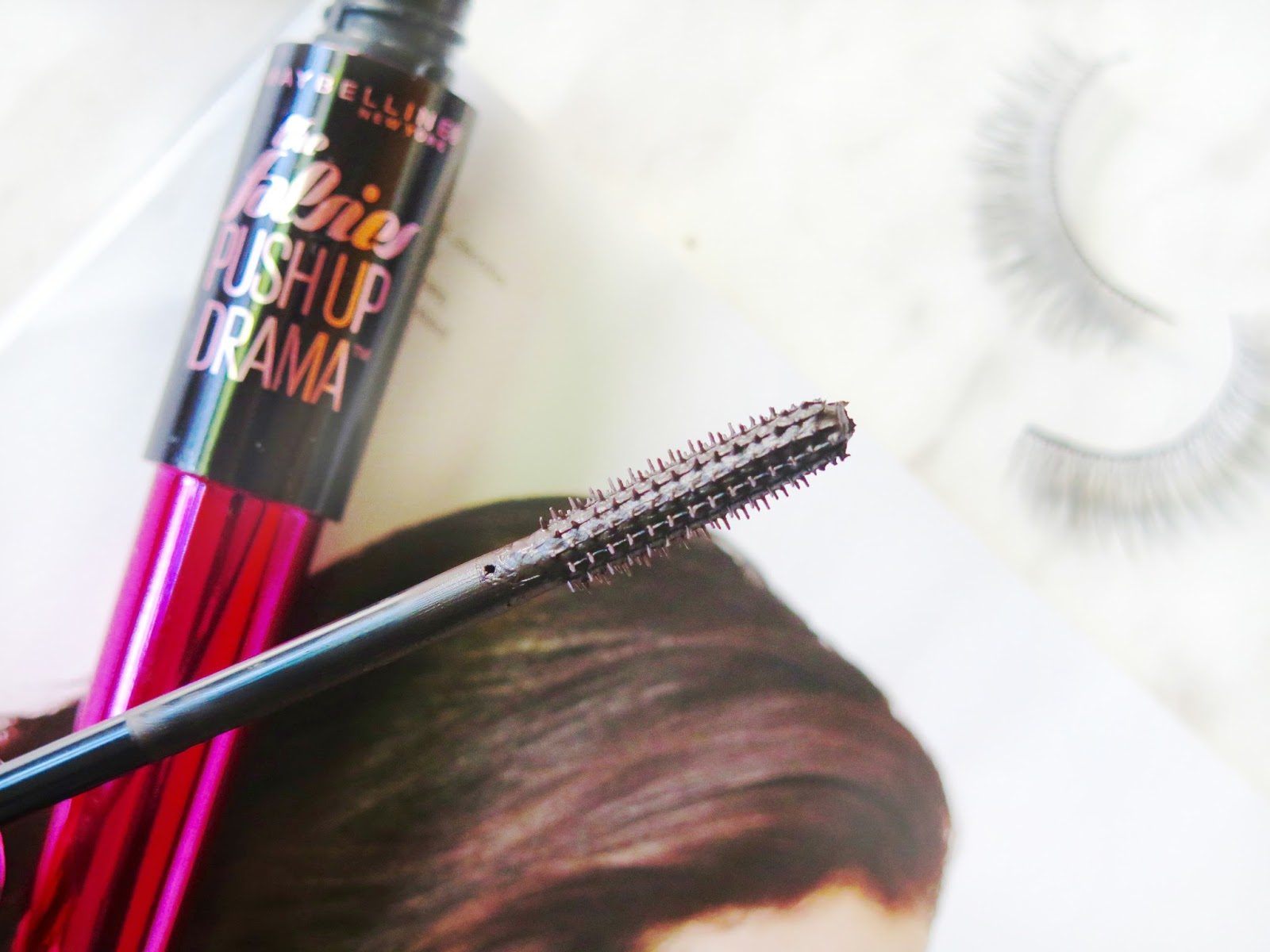 Review   Maybelline The Falsies Push Up Drama Mascara   Flirty Volumized Lashes With Extra Curl   labellesirene.ca