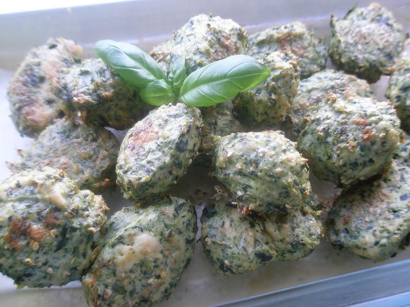 Frk Sveske Kyllingedeller Med Spinat Sesam