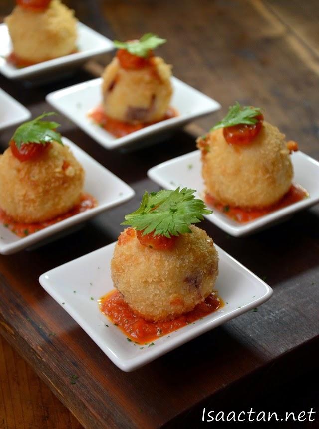 #1 Arancini (Rice Ball)