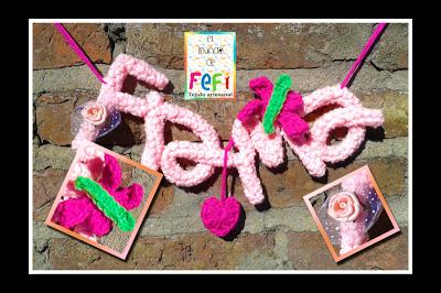 amigurumis, crochet, tejido, fefi, letras