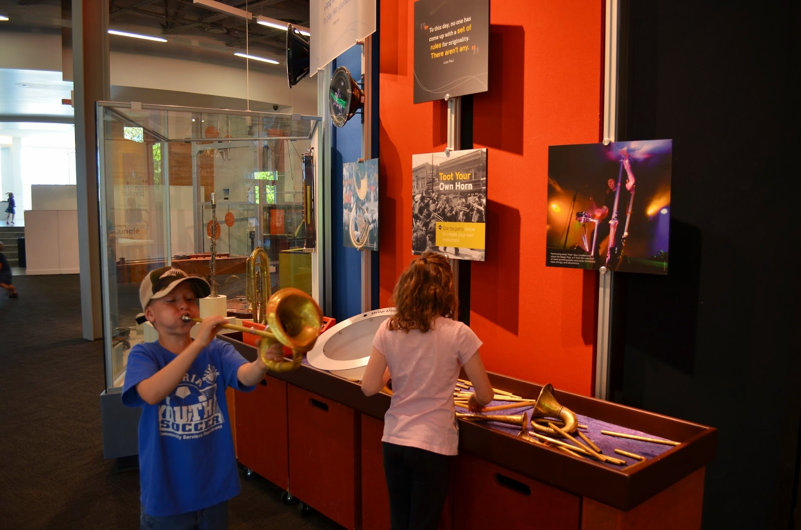Our visit to the Fort Collins Museum of Discovery in Colorado.