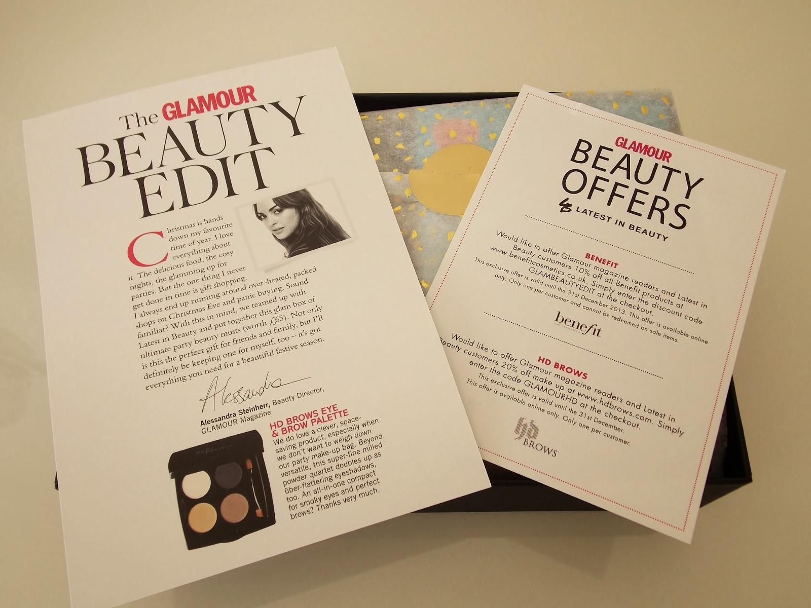 Latest in Beauty: Glamour Beauty Edit - a run down of the contents