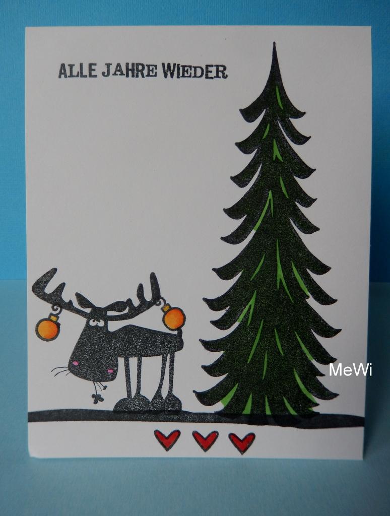 stempelhex weihnachten mit cats on appletrees xmas cats. Black Bedroom Furniture Sets. Home Design Ideas