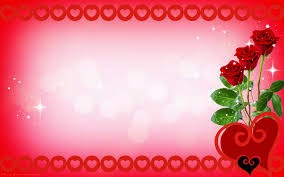 Valentine's Day Card Red Roses