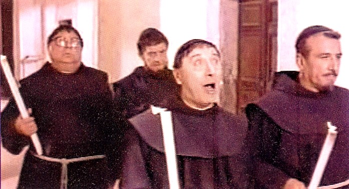 I quattro monaci 1962