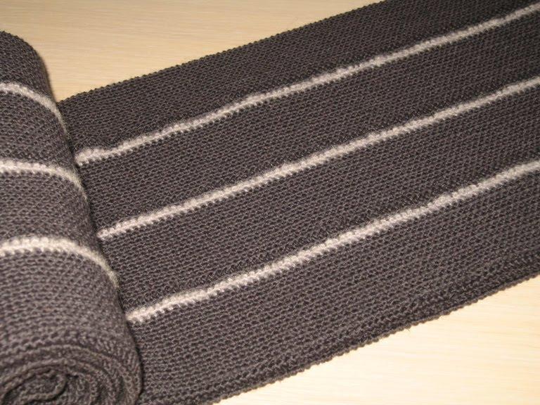 Крючок №2. Длина шарфа - 2,1м,