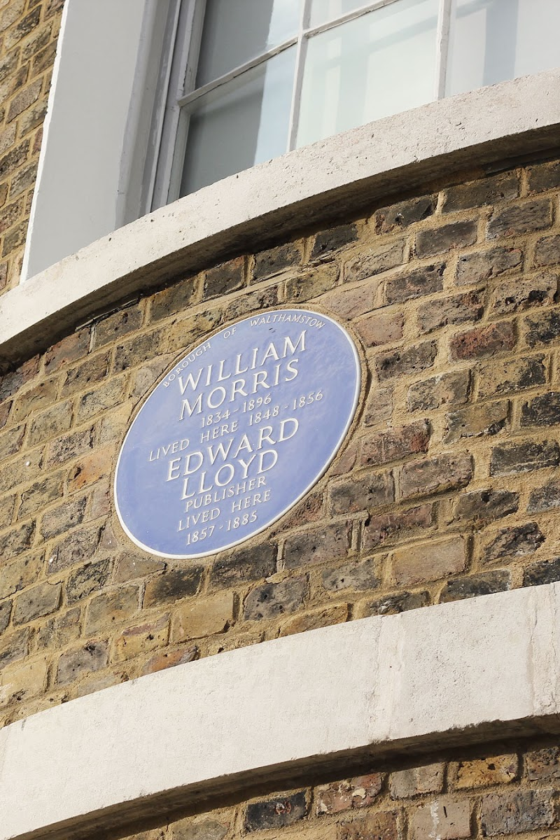william morris gallery walthamstow blue plaque