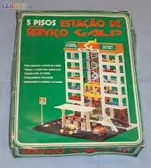 ... da Estação de Serviço da Galp para carros em miniatura
