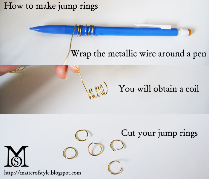 how to make jump rings, how to jewelry,jewelry making