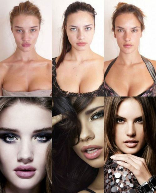 models before after