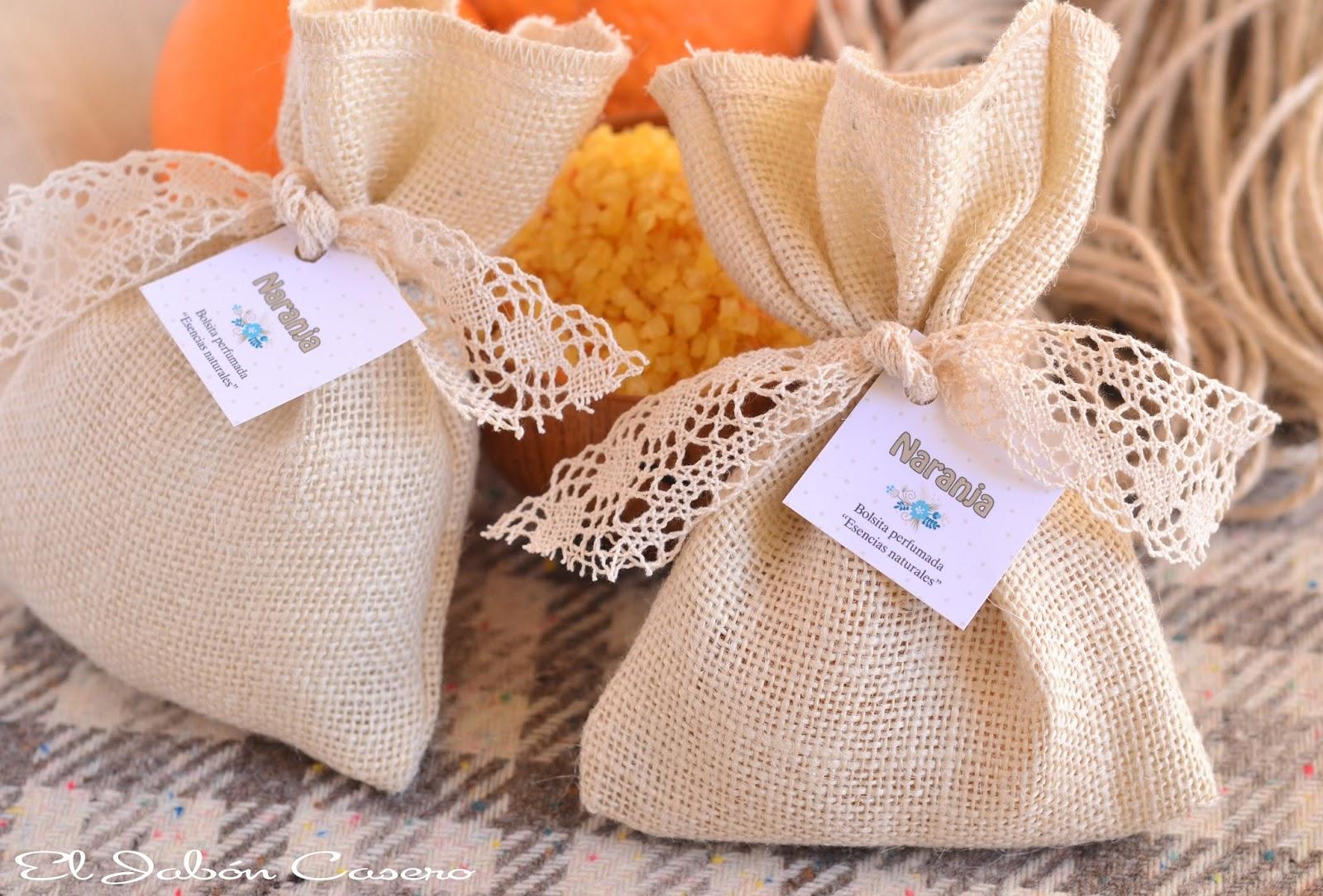 Saquitos perfumados regalos detalles  bodas