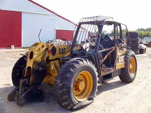 used telehandler parts