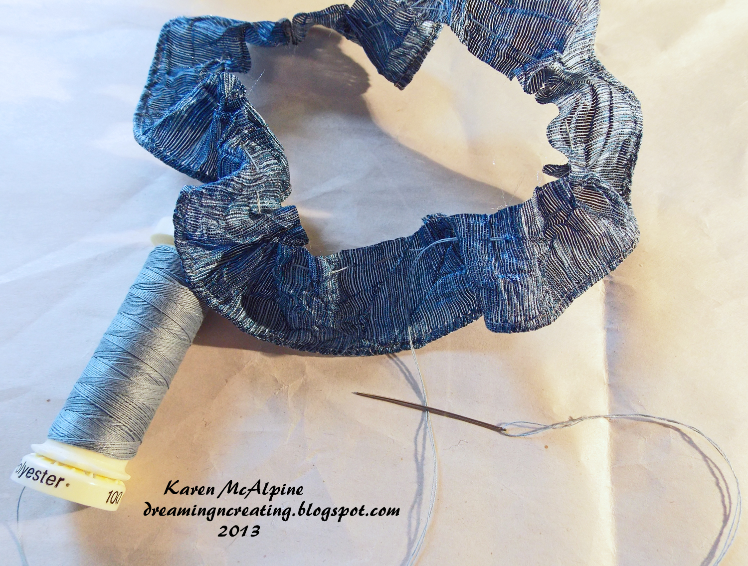 how to make a browband rosette with ribbon