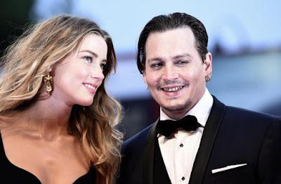 Johnny Depp ingrassato al Festival di Venezia