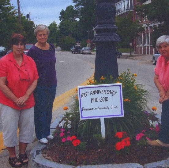 Farmington Woman's Club has Long History of Service to the Town