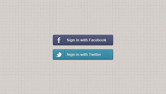 Login with Facebook and Twitter