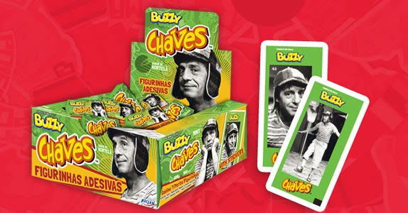 Chicle Buzzy Chaves, da Riclan