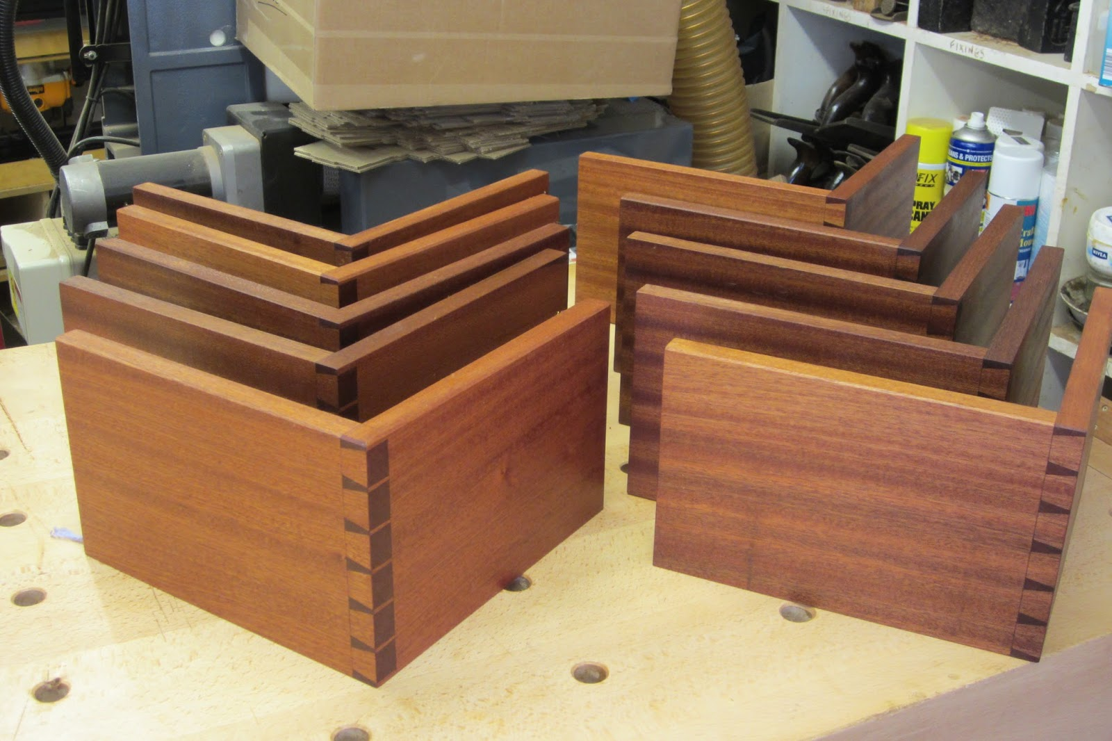 Dovetail Alignment Boards