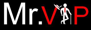 Mr.VIP Logo, Mr.VIP site de classificados de acompanhantes de luxo.