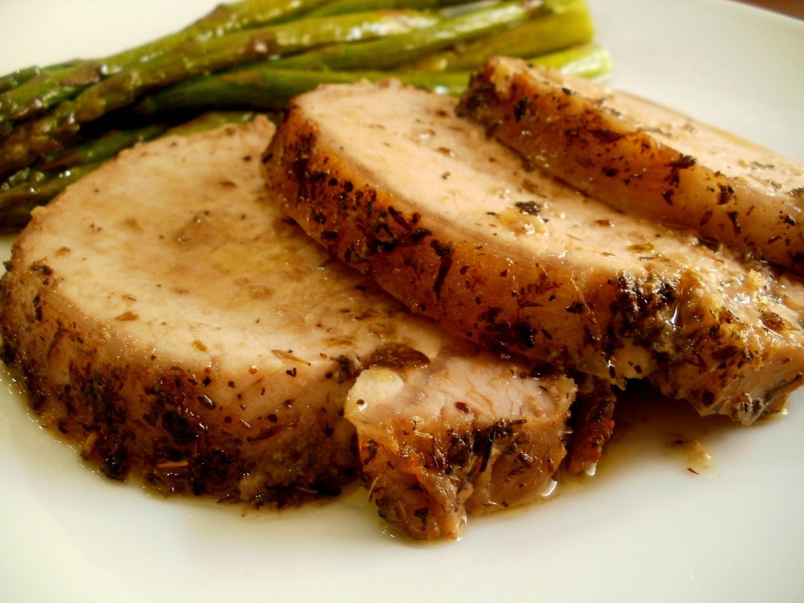Los antojos de clara lomo de cerdo al horno - Como preparar un solomillo de cerdo al horno ...