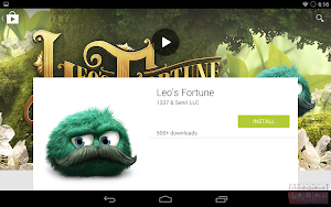 Google Play Store Material Design