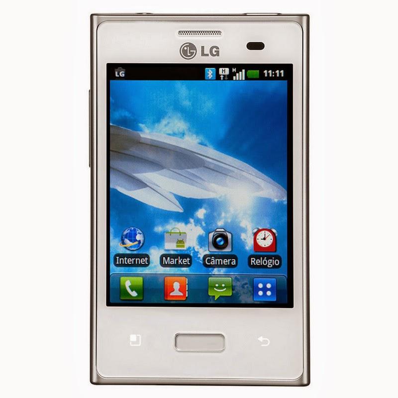 Spesifikasi Dan Harga LG Optimus L3 E400 White Terbaru