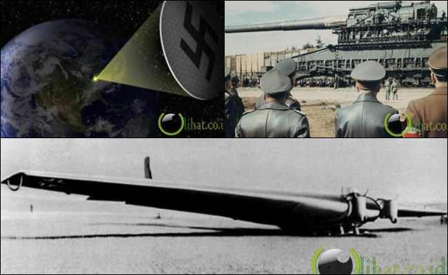 10 Senjata Aneh Nazi untuk membunuh Manusia