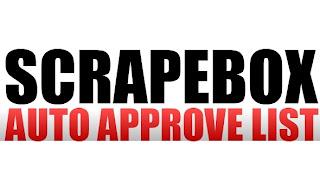 100K Scrapebox Auto Approve List