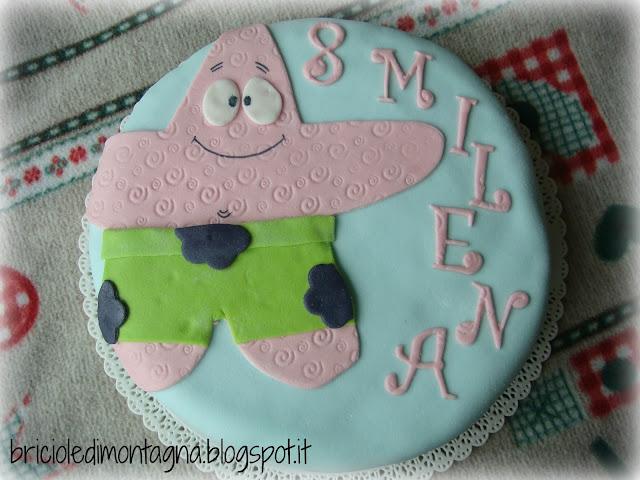 patrick la stella marina (torta decorata)