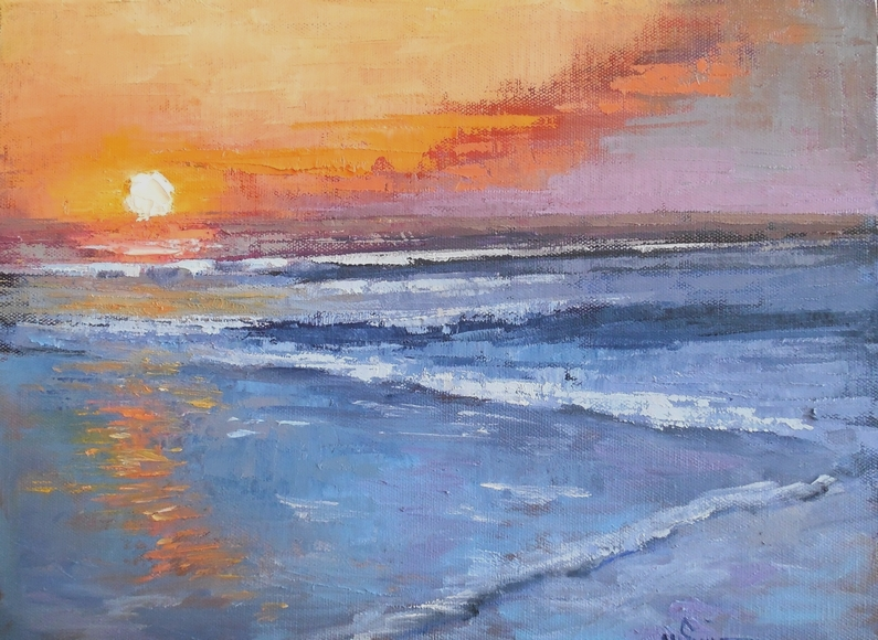 sea painting