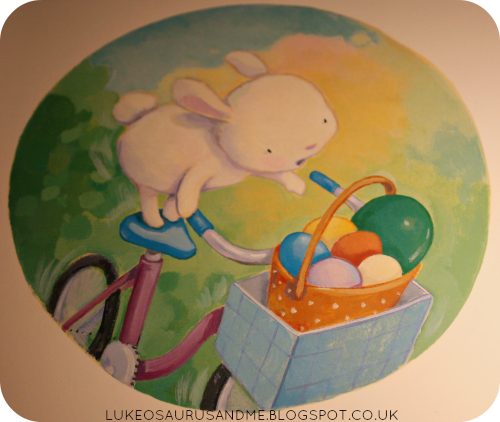 The Great Easter Egg Scramble Review. Easter Books. Cute illustrations. www.lukeosaurusandme.blogspot.co.uk