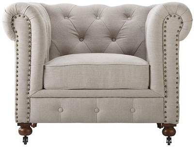 Home Decorators Gordon Tufted Chair
