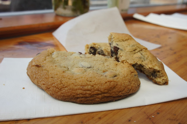 Chocolate chip cookie at the Marshall Store.