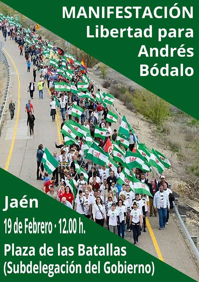 Libertad para Andrés Bódalo