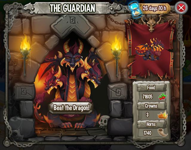 imagen de la batalla contra el dragon cerberus