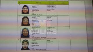 Senarai nama jemaah haji Malaysia yang hilang1