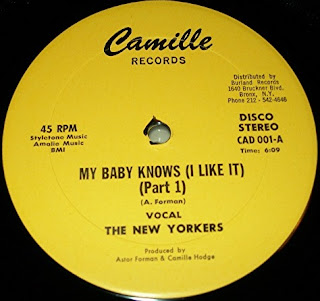 The New Yorkers - My Baby Knows (I Like It) 1981 12 Inch