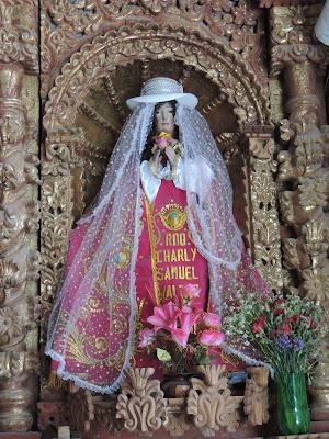 Particular de la iglesia de Chivay, Valle del Colca
