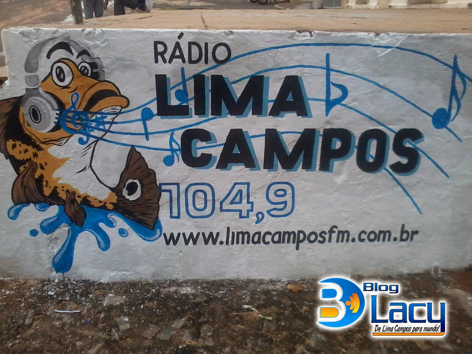 LOGOMARCA RÁDIO LIMA CAMPOS FM