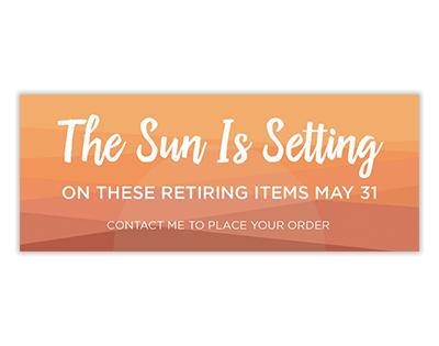 Stampin' Up! Retiring List