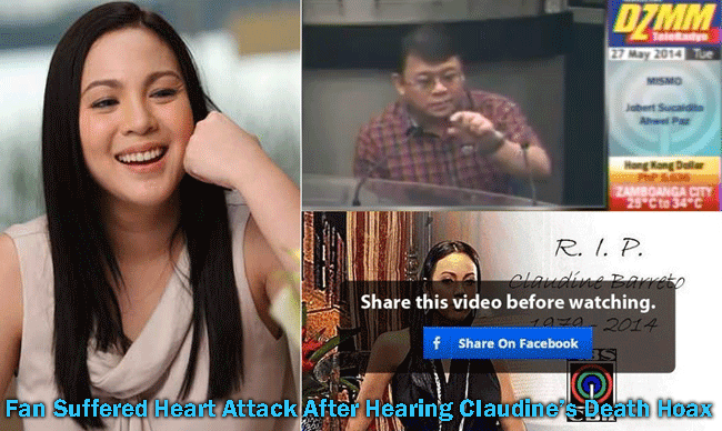 Fan Suffered Heart Attack After Hearing Claudine's Death Hoax