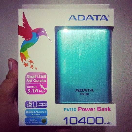 TeknoGadyet Giveaway: ADATA PV110 10400mAh Power Bank