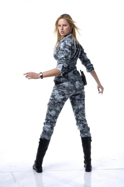 Karolina Kurkova – The Rise of Cobra Shoot