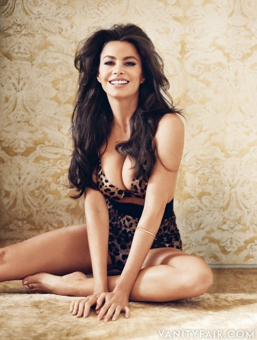 Sofia Vergara at Vanity Fair Magazine (October 2011)