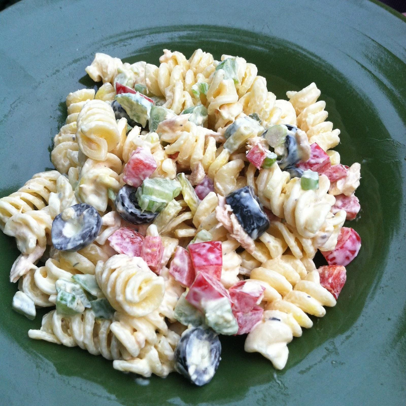Quest for Delish: Pasta Tuna Salad
